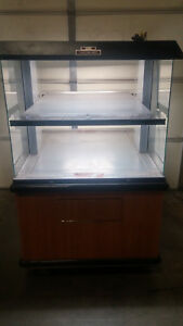 Large Double Sided Heated Deli Case Warmer In Great Shape Merchandiser Hot Food