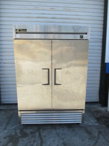 True Ts 49 54 Commercial Stainless Steel Two Door Reach In Refrigerator Cooler