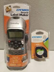 New Dymo Personal Label Maker Letratag With 2 Extra Refills Variety Pack Lt 100h
