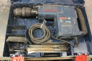 Bosch 11316evs Demolition Hammer W case And Drill Bits
