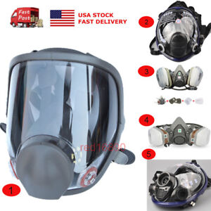 Us Types Gas Mask Dustproof Painting Spraying For 6200 6800 Facepiece Respirator