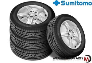 4 X New Sumitomo Htr A s P02 215 45 17 91w Bw All Season High Performance Tires