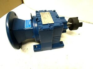 Sew Eurodrive R27am56 55 87 1 Ratio Gearbox Speed Reducer 1150 Lb in Torque