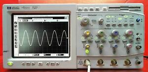 Hp Agilent Keysight 54825n Infinium Oscilloscope 500mhz 2gsa s 4 Channel