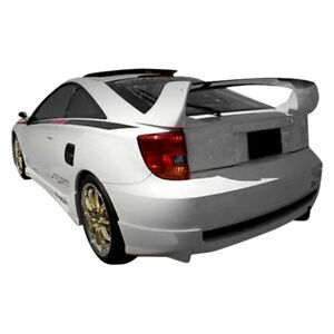 For Toyota Celica 00 05 Rear Bumper Lip Under Spoiler Air Dam Td3000 Style