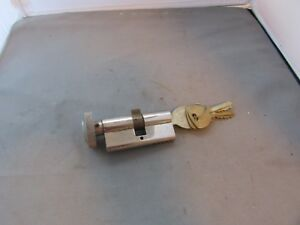 Vtg Door Lock Set Knob 74424 Guerville Riquier Made In France W Keys