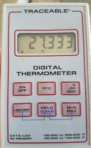 Vwr Scientific Traceable Digital Thermometer Data Log 50 58 To 302f