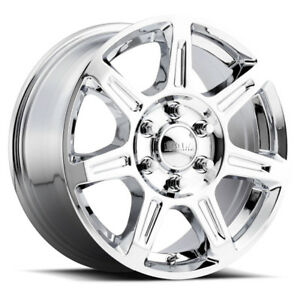 4 New 16 Inch Ultra 450c Toil Van 16x6 5 6x130 45mm Chrome Wheels Rims