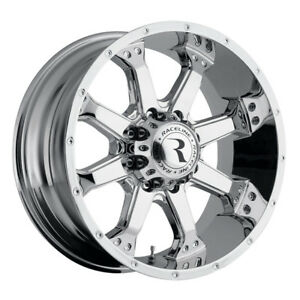 4 16 Inch Raceline 991c Assault 16x8 6x139 7 6x5 5 0mm Chrome Wheels Rims