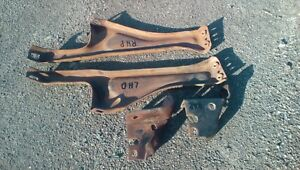 1987 Chevy Truck Front Bumper Mounting Brackets