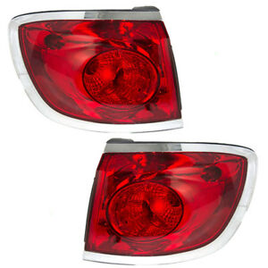 08 12 Buick Enclave Set Of Taillights