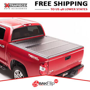 Bakflip G2 Hard Fold Tonneau Cover Fit 07 18 Toyota Tundra 5 6 Bed W Track