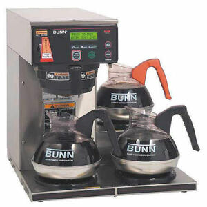 Bunn Axiom Dv 3 12 cup Automatic Brewer With 3 Lower Warmers new