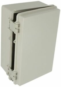 Plastic Box Solid Door Electrical Enclosure Waterproof 11 3x7 5x5 5 Light Gray