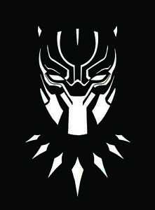 Black Panther Custom Car Laptop Decal Sticker 8 X 5