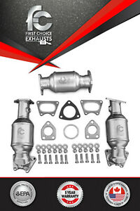 For 2006 2007 2008 Honda Ridgeline Catalytic Converter Set Bank 1 2 And 3 3 5l