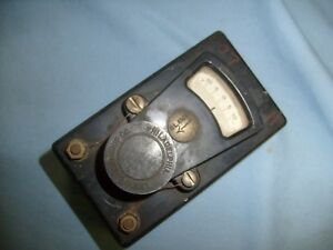 Vintage Leeds Northrup Meter 20 Ohms 2325b Cat No Antique Gauge Fh