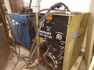 Hobart Bet Mig 200 Welder With Spool Gun Hookup