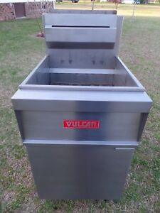 Vulcan Deep Fryer Model 1gr65 Natural Gas Nice Shape Extra Clean