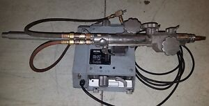 Large Victor Vcm 100 Track Torch Cutting Machine With Extras no Rails