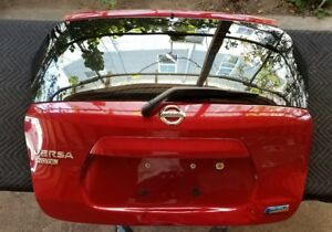 2014 19 Nissan Versa Note Genuine Complete Lift Tail Gate Trunk