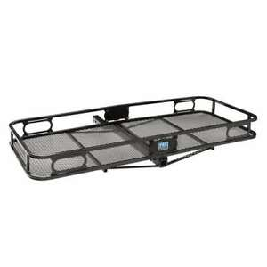Pro Series Rambler Cargo Carrier Basket For 2 Trailer Mounted Hitch open Box