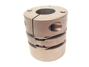 Unbranded Flexible Motor Coupling Od Approx 48mm Bore Approx 19mm