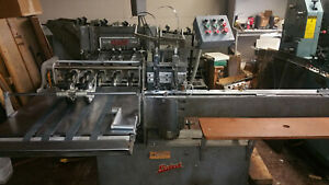 Rosback 202t Collate Stitcher Three Knife Trimmer Will Separate