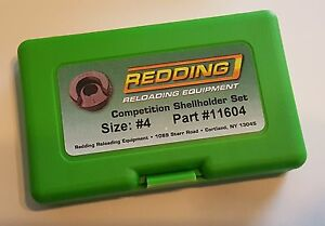 11604 REDDING COMPETITION SHELLHOLDER SET (220 SWIFT  225 WIN +) NEW - FREE SHIP