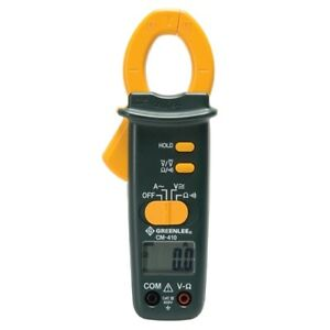 Greenlee Cm 410 400a Ac Clamp on Meter