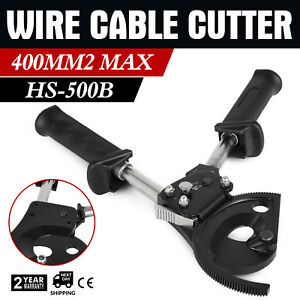 Ratchet Cable Cutter 400mm2 Cutting Easily Forging Blade Ratchetingadjustable