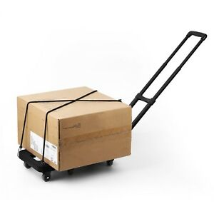 Cart Folding Dolly For A House Item Collapsible Hand Trolley For Luggage Boxes