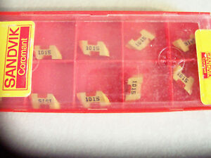 New 10 Pcs Tltf 2r Grade 1015 Coated Threading Inserts Sandvik