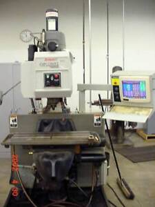 Bridgeport Explorer X 1 Cnc Milling Machine 230 Volts 3 Phase With Vise Tooling