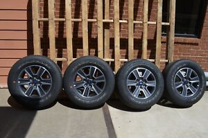 2015 2016 2017 Ford F150 F 150 4wd 18 Inch Takeoff Wheels And Tires Set No Tpms