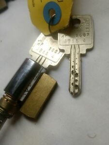 Rare Kaba Gemini Kik High Security Lock Cylinder