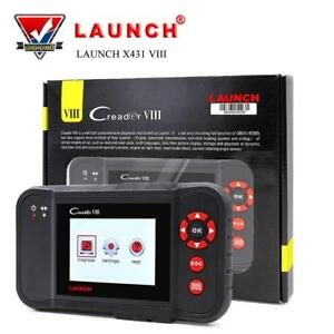 Launch X431 Viii Obd2 Scanner Vehicle Code Reader Creader 8 Auto Scan Tool