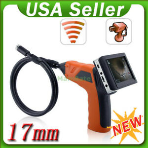 3 5 Wireless Inspection Camera Monitor Endoscope Borescope Dvr Recorder New