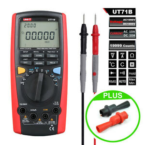 Uni t Ut71b Digital Multimeter Usb Interface Frequency Tester Meter Power Rms