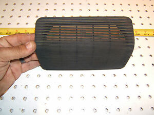 Porsche Early 944 924 Dash Center Speaker Black Oem 1 Cover 477 857 187 Hpo