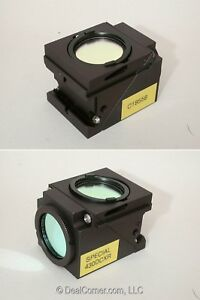 Nikon C 18558 Special 430dcxr Fluorescence Filter Cube For Eclipse Microscopes