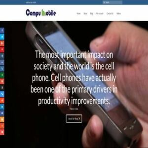 Mobile Phone Shop Mobile Friendly Responsive Website Business For Sale