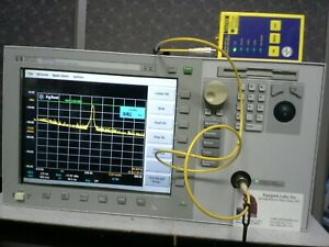 Agilent 86140a Optical Spectrum Analyzer Tested 600 Nm To 1700 Nm Osa