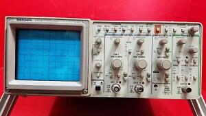 Tektronix 2212 Two Channel Digitizing Oscilloscope for Parts Or Repair