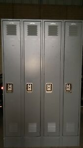 Gym Locker 4 Door Lyon Metal School Business Industrial Locker H78 x W48 X D12