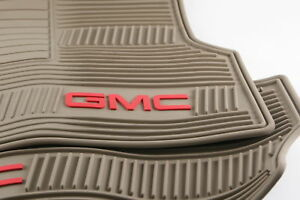 New Oem Gm 19166592 07 14 Gmc Yukon Xl Premium All Weather Front Floor Mats