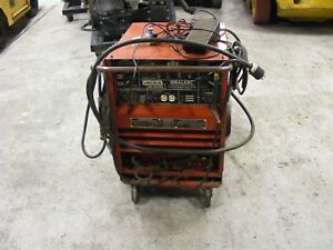 Lincoln Idealarc Welder Cat No tig 250 250 Complete W leads Foot Control Ac dc