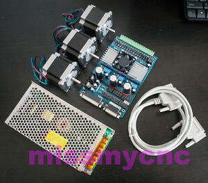 3axis Nema23 Stepping Motor 1 2n m 2 8a 4wire board Tb6560 Power For Cnc Mill