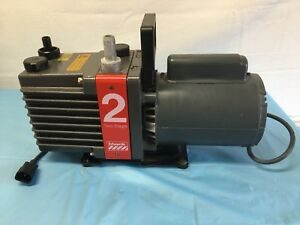 Edwards 2 Two Stage High Vacuum Pump Model E2m2