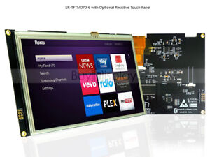 1024x600 7 7 Inch Tft Resistive Touch Screen Lcd Display Module Serial Spi I2c